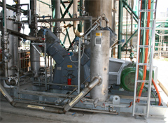 CO2 compressor installation